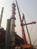 60米塔器在吊装
